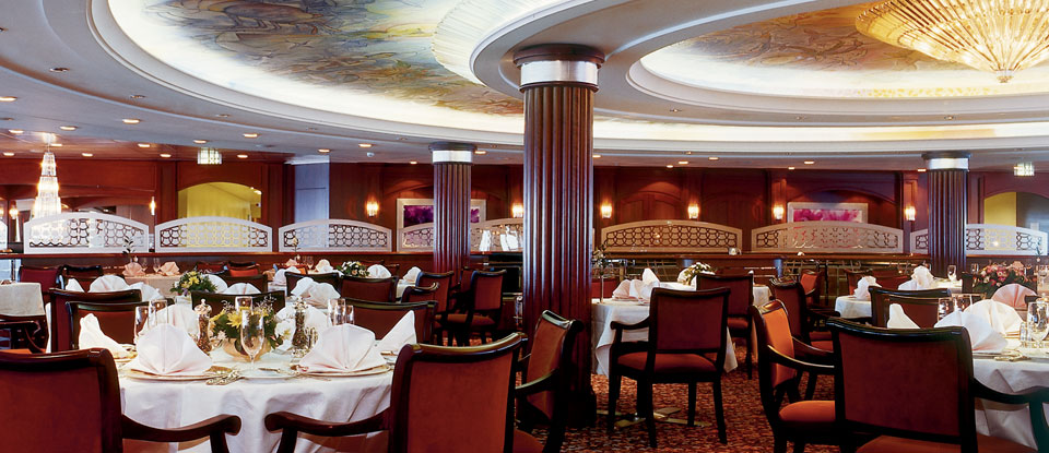 crystal cruises all-inclusive dining